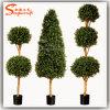 Barriera artificiale del Boxwood degli alberi artificiali del Topiary del blocco per grafici del Topiary