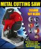 355m m 14  2300W 15A Professional Multipurpose Steel/Metal/Wood/Aluminum/Copper Cutting Cut off Saw Electric Pipe Cutting Machine (GW8039)