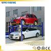Гидровлический подъем автомобильной стоянки 4 столбов