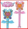 Проблескивая игрушки пластмассы палочки волшебного Fairy нот ручки волшебные