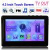 4,3 pouces écran tactile 8 Go lecteur MP5, support radio FM, e-book, jeux, sortie TV