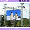 Pantalla de pantalla al aire libre impermeable del funcionamiento de la etapa LED (al aire libre P3.91 / P4.81 / P5.95 / P6.25)
