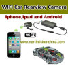 iPhone y Android Phone de WiFi Car Backup Camera Supports