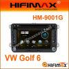 7  2-DIN reproductores de DVD W/Bluetooth RDS, GPS, Tmc, DVB-T Construir-en Optional para VW Golf 6 (HM-9001G)