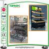 Trois niveaux d'affichage de fruits et légumes et d'étagère de rack