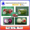 Bandeja de vegetales de la máquina de envasado retráctil de automática