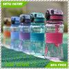 Sports heißer Plastik des Verkaufs-350ml Wasser-Flasche mit Schutzkappen-Verschluss