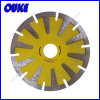T Segment Dry Cutting Diamond Curved Saw Blade