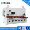 Blech und Platte CNC-hydraulische Guillotine-Schere und Ausschnitt-Maschine