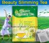 Bellezza naturale che dimagrisce perdita di peso del tè