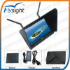 D60 Flysight Black Pearl 7  Fpv LCD HD Monitor mit 5.8GHz Diversity Receiver für RC Heli Quad Helicopter