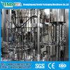 Imbottigliamento della birra gassoso risciacquando macchina e strumentazione di coperchiamento di riempimento