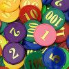 Изготовленный на заказ пластичный играя в азартные игры Jetton Китай сделал обломок покера