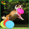 Cão de alta qualidade de plástico brinquedo Pet Frisbee com nome da marca