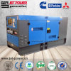 50квт 40квт бесшумный дизельный генератор установлен электрический генератор звуконепроницаемых навес
