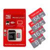 Cartão Micro SD de 64 GB de memória de classe 10 Capacidade real de cartão Microsd de alta velocidade de 4GB/8GB/16GB/32GB TF Cartão Microsd Card para Dom