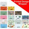 Foska druckte Entwurf Belüftung-Buch-Verpackung mit Shrink-Verpackung