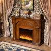 セリウム(332B)が付いている現代木製のホテルの家具のヒーターの電気暖炉