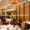 Декоративные металлические Ресторан делитель стекла перегородки