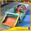 2 in 1 grosse Dino-Spaß-Stadt-aufblasbarem Park für Kindergarten-Aktivität (AQ01437)