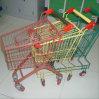 Le mini supermarché badine le chariot de chariot à achats en métal