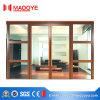 Porta de vidro da mola para o prédio de escritórios