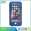 Caja azul del teléfono celular de Lifeproof para el iPhone 6 4.7