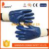 De Ddsafety 2017 de bleu de nitriles gant de travail d'enduit entièrement