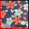 Ткань джинсовой ткани печатание цветка для Сумки повелительницы