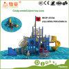 Простой серии Corsair детей игровая площадка на открытом воздухе слайдов
