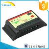 20I-St solar del regulador de la carga del control del temporizador de 12V 24V 20AMP 15hours