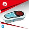FM / Radio / MP3 / MMC impermeável de dois vias LCD Display alarme de motocicleta