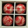 Bola de cerámica de la Navidad (JW11219)