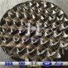 125X/Y chapa perforada de acero inoxidable de embalaje estructurado