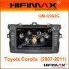 Alquiler de DVD P/E8 CPU/Bt/RDS/iPod/GPS/V-CDC/Pop/3G/Archivo Management-Toyota Corolla (2007-2011) (HM-C063G)