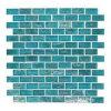 Pavimento di mosaico di cristallo del fornitore della Cina blu-chiaro