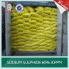 lage Ijzer van de Vlok van het Sulfide van het Natrium van 62% 10ppm30ppm het Gele
