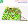 새로운 디자인 실내 운동장, 오락 장난꾸러기 성곽 (BJ-ID15)