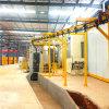 Машина поставщиков горячей новейших технологий продаж висящих тип цепи колеса дробеструйная очистка оборудования для фармацевтических Derust поверхности с помощью электродвигателя ABB