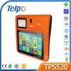Telpo TPS520 Lecteur de carte NFC Terminal Tablet POS avec dispositif d'empreinte optique pour la loterie de restaurants de détail