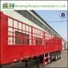 Semi Aanhangwagen van de Omheining van de Deur van het Vervoer van de Lading stortgoed van China de Zij Op zwaar werk berekende