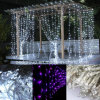 Luces de la cortina de la Navidad LED Waterfull