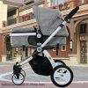 Norma Europeia Luxury dobrar o bebé Pram com banco do carro