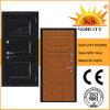 中MDFのパネルの装飾的な鋼鉄ドア(SC-A204)