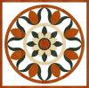 高品質の円形の磨かれた磁器パターンタイル
