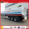 3 Axles 40-55cbm химически топливозаправщика трейлер Semi для серной кислоты