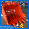 30t Excavator Grating / Grilling / Skeleton Bucket for All Brand Excavadora