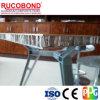 El panel de aluminio de la base de panal del uso al aire libre de PVDF