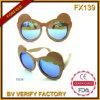 Fx139 деревянный материал 100% чисто Handcraft солнечные очки малышей рамок