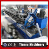 Nuevo rodillo en forma de U de acero de la quilla del material de construcción C que forma la máquina